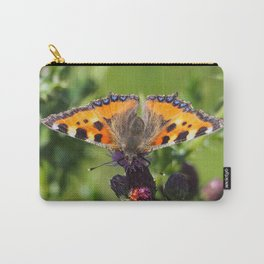 Little Tortoiseshell Buterfly Carry-All Pouch