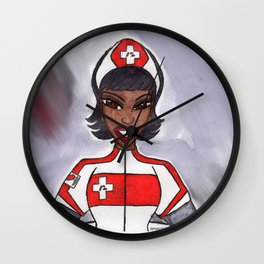 The Smile of an Angel Wall Clock
