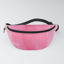 Pink Ombre Watercolor Fanny Pack
