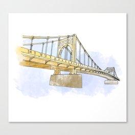 Sister Bridge Canvas Print