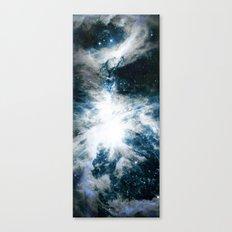 Orion Nebula Blue & Gray Canvas Print