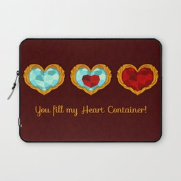 HEART CONTAINER Laptop Sleeve