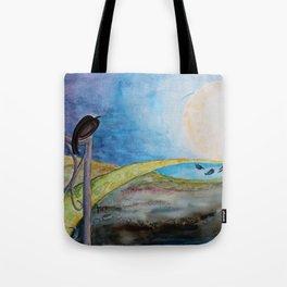 Crow Moon Tote Bag