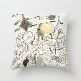 Toronto Popcorn invasion Throw Pillow