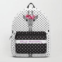 FLOWER GIRL GIRAFFE Backpack