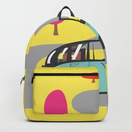 vintage car cartoon Backpack