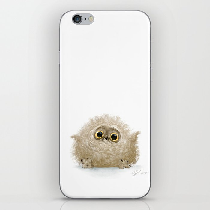 Baby owl iPhone Skin