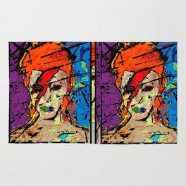 David Bowie. A Lad Insane Rug
