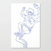 homestuck Canvas Prints featuring Homestuck by Lance Phillips