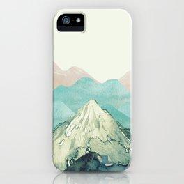 Mountains Landscape Watercolor iPhone Case