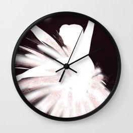 Space Ballerina (2 of 3) Wall Clock