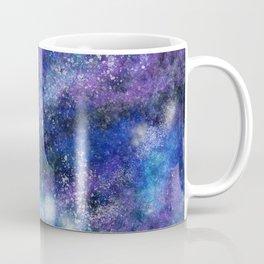 Blue Space Galaxy Coffee Mug