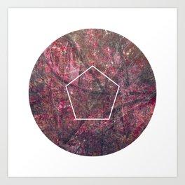 Geometrie #4 Art Print