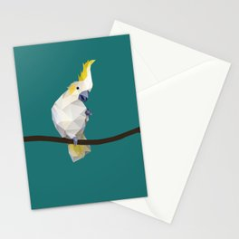 Cockatoo. Stationery Cards