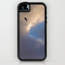 Blue Sky Thinking iPhone Case