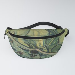 "Vincent Van Gogh ""Emperor Moth (The giant peacock moth)"" Fanny Pack"