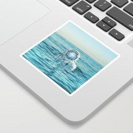 scuba space Sticker