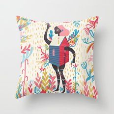 Haus Throw Pillow