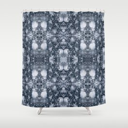 Water Ice pattern Shower Curtain