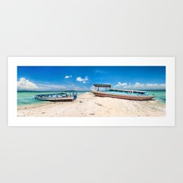 Bali Beach Art Print