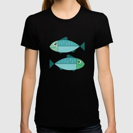 A sweet couple of fish T-shirt