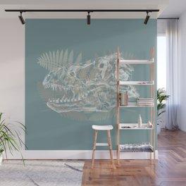 Tyrannosaurus Rex Skull Wall Mural