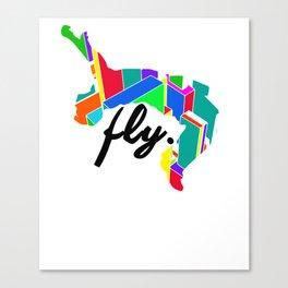 Fly Parkour Canvas Print