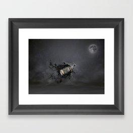 Overload the moon! Framed Art Print