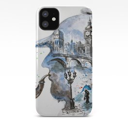 Mr. Sherlock iPhone Case