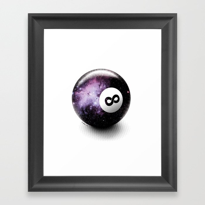 Infinity Shot Framed Art Print