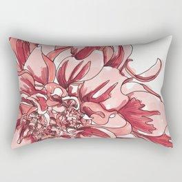 Dhalia Flower Rectangular Pillow