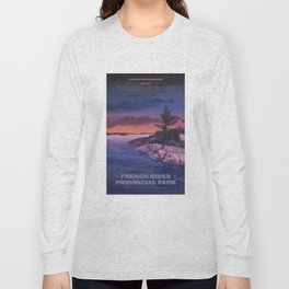French River Provincial Park Long Sleeve T-shirt