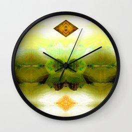 Inadvertent upward motion jig. Wall Clock