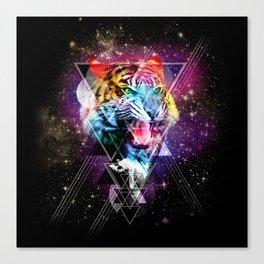 Cosmic Tiger 2 Canvas Print