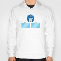 optimus prime Hoodies featuring Optimus Prime by IlPizza