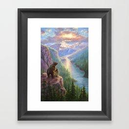 The Last Frontier Framed Art Print