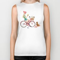 letters Biker Tanks featuring Love Letters by KattyB