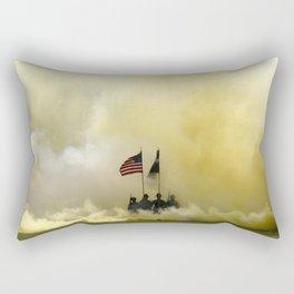 US Army Graduation - Panoramic Rectangular Pillow