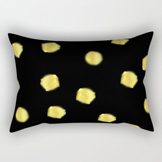 Gold pearls Rectangular Pillow