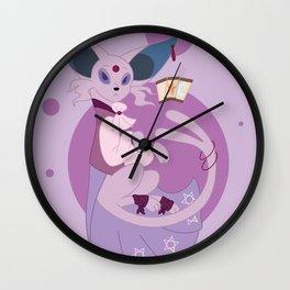Psychic Steampunk Fox Wall Clock