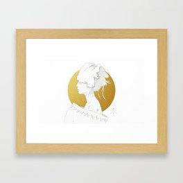 MELLOW GOLD (Steal My Body Home) Framed Art Print