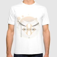 Song MEDIUM White Mens Fitted Tee