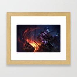 Classic Jax League of Legends Framed Art Print