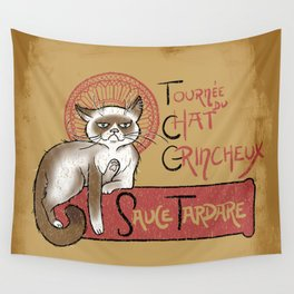 Tournee du Chat Grincheux Wall Tapestry