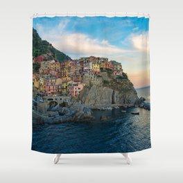 Sinke Terre Italy Shower Curtain