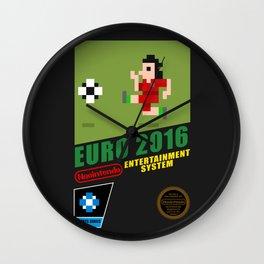 Euro 2016 NES Box Wall Clock