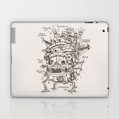 Howl's Moving Castle Plan Laptop & iPad Skin