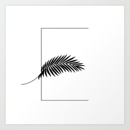Palm E Art Print