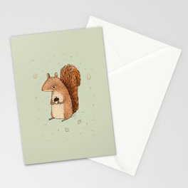 Sarah the Squirrel Stationery Cards