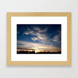 Calm Evening Framed Art Print